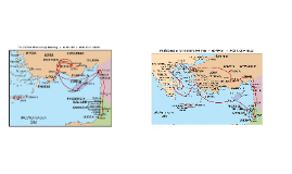 Paul's Missionary Journey 1 and 2
