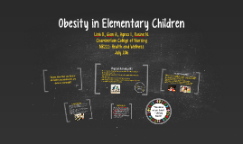 Obesity in Elementary Children