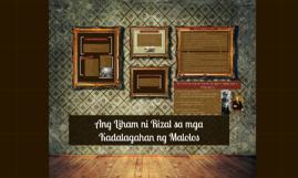 Copy of Ang Liham ni Rizal sa mga Kadalagahan ng Malolos