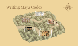 Writing Maya Codex
