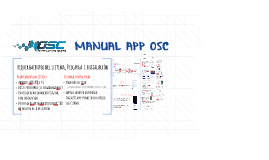 Manual  APP OSC