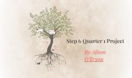 Step 6 Quarter 1 Project