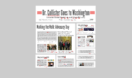 Dr. Collister Goes to Washington