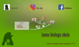 Jauno biologu skola