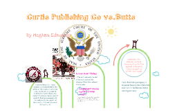 Curtis Publishing v.Wallace Butts by meghan