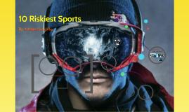 top 10 riskiest sports
