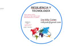 RESILIENCIA Y TECNOLOGÍA