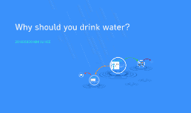 Why should you drink water?