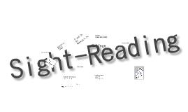 Methods of Sight Reading