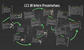 CCS 101 Intern Presentations
