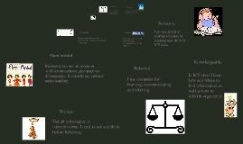 PYP ICT LEARNER PROFILE
