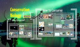 Copy of Conservation Biology