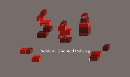 pros and cons of problem oriented policing
