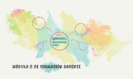 Módulo 3 de Formación Docente
