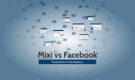 Mixi vs Facebook