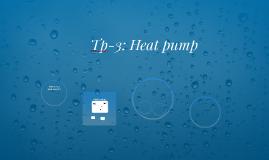 Tp-3: Heat pump