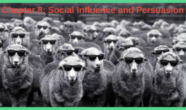 Chapter 8: Social Influence and Persuasian