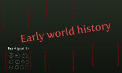 Early world history