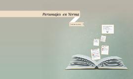 Personajes  en Yerma