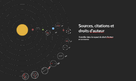 Sources, citations et droits d'auteur