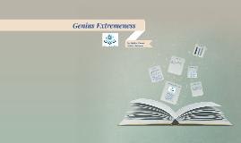 Genius Extremness