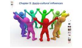 Chapter 5: Socio-cultural influences