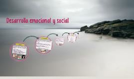 Desarrollo Socio - Afectivo