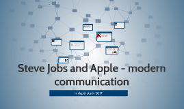 Steve Jobs and Apple - impact on modern communication
