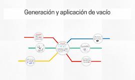 Generación y aplicación de vacío