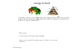 Energy for primary 5