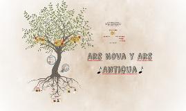Ars Nova y Ars Antigua