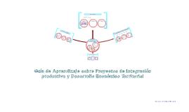 Guía de Aprendizaje sobre Proyectos de Integración productiva y Desarrollo Económico Territorial