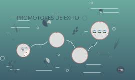 PROMOTORES DE EXITO
