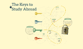 The Keys to Study Abroad