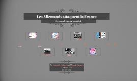 Les Allemands envahissent la France
