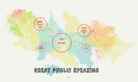 GREAT PUBLIC SPEAKING