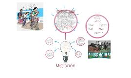 Se produce una migración  cuando un grupo social, sea humano