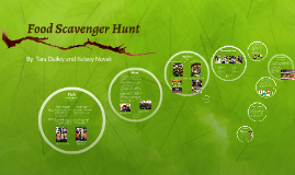 Food Scavenger Hunt