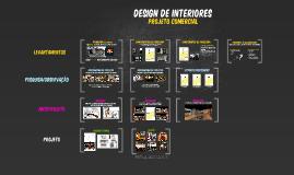 DESIGN DE INTERIORES - PROJETO COMERCIAL
