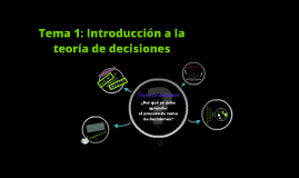 Copy of Teoria de Decisiones