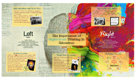 Copy of The Importance of Right-Brain Thinking in Education