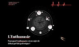 TPE oral : L'euthanasie