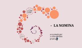 Copy of  LA NOMINA