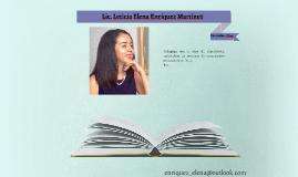 Lic. Leticia Elena Enríquez Martínez