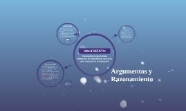 Argumentos y Razonamiento