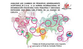 SUSTENTACION ANTEPROYECTO CAMBIOS DE PCGA A NIIF PARA PYMES
