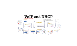 Copy of VoIP and DHCP