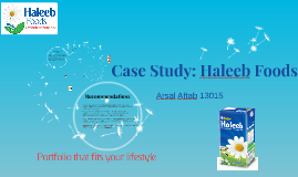 Case Study: Haleeb Milk