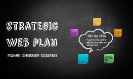 strategic web plan
