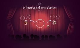 Historia del arte clasico